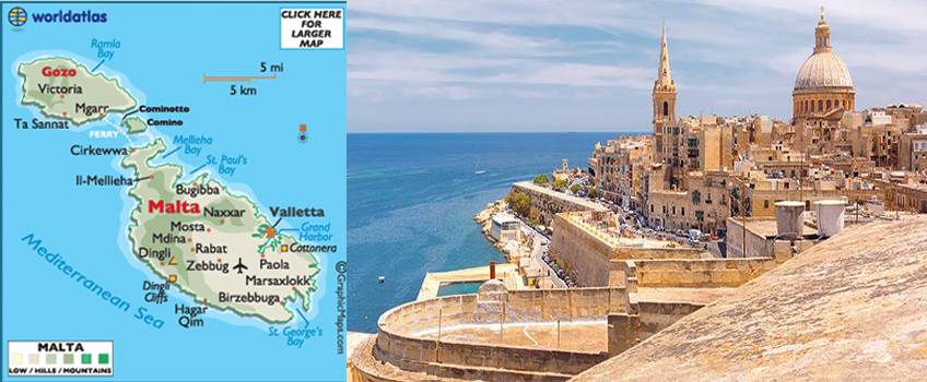 malta free visa country list